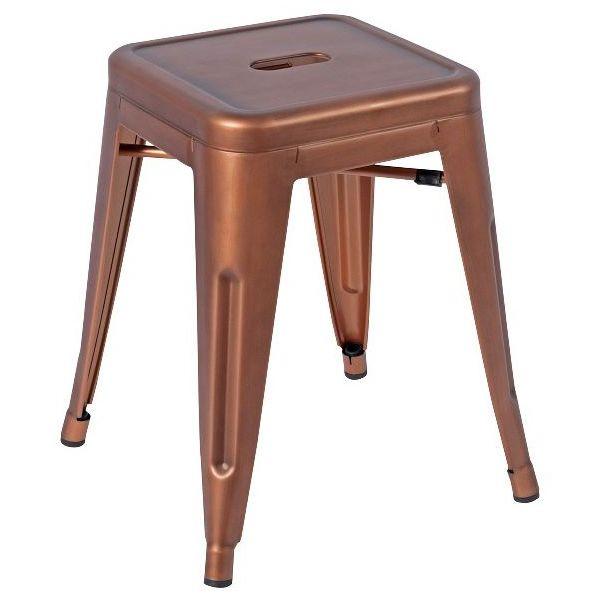 Bistro Low Stool (Copper)