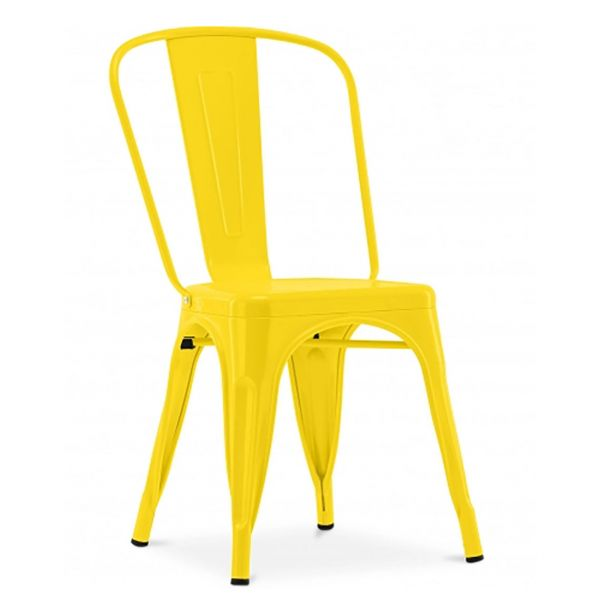 French Bistro Side Chair (Yellow)