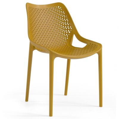 Oxy Side Chair (Mustard)