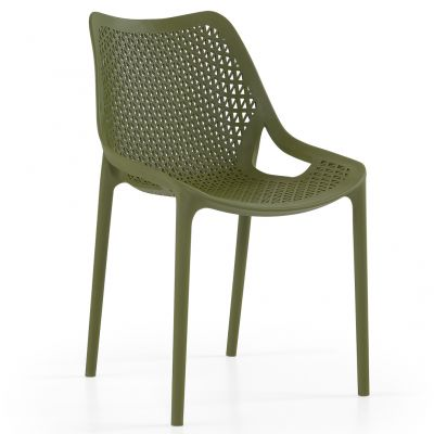 Oxy Side Chair (Olive)