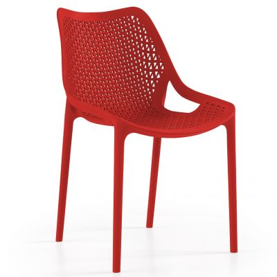 Oxy Side Chair (Red)