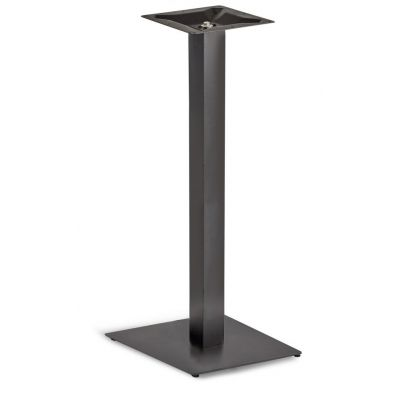 Profile Square Small ST Poseur Height Table Base (Black)