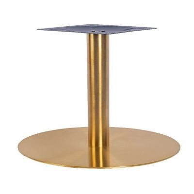 Zeus Large Coffee Height Table Base (Brass)