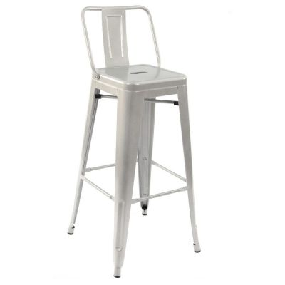 French Bistro High Chair (Clear Lacquer)