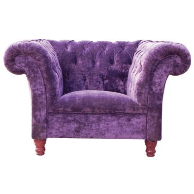 Cleo Arm Chair (Mulberry)