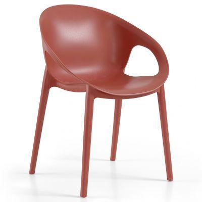 Cosy Arm Chair (Brick)