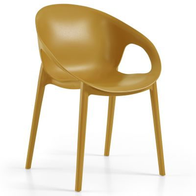 Cosy Arm Chair (Mustard)