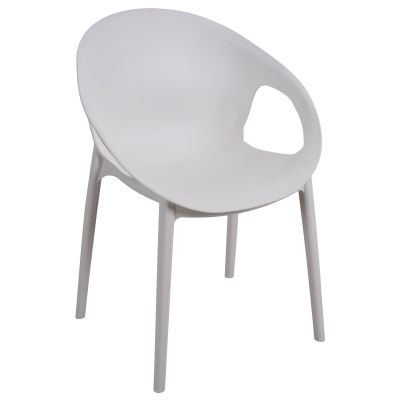 Cosy Arm Chair (White)