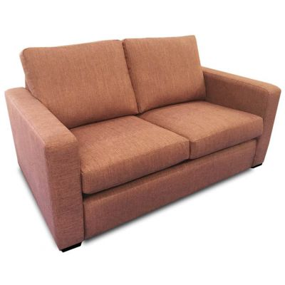 Denver Two and a Half Seater Sofa (Terracotta)