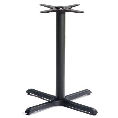 Durham Medium Mid-Height Table Base (Black)