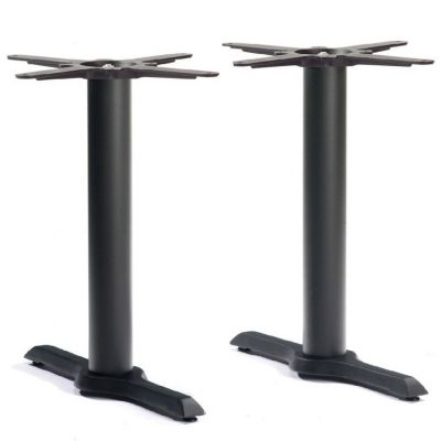 Durham Refectory Lounge Height Table Base (Black)