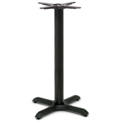 Durham Small Poseur Height Table Base (Black)