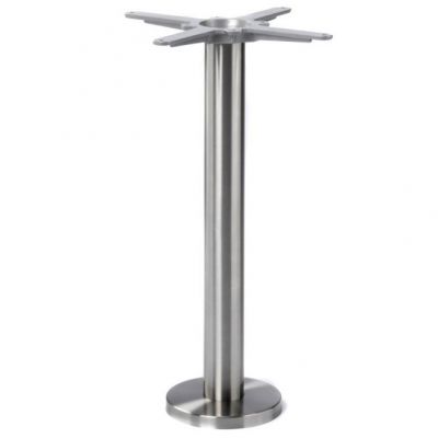 Floor Fix SS Dining Height Table Base