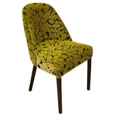Gomo Side Chair (ParadisoCitrus / Walnut)