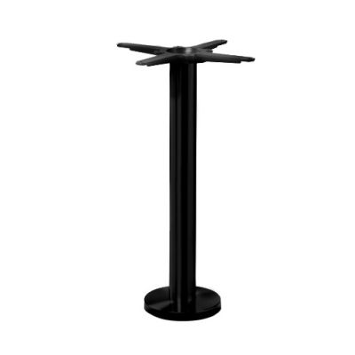 Floor Fix Dining Height Table Base (Black)