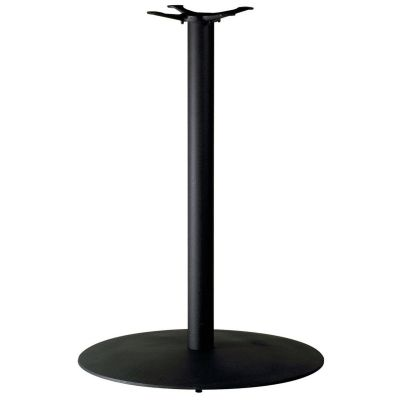 Dome Small Poseur Height Table Base (Black)
