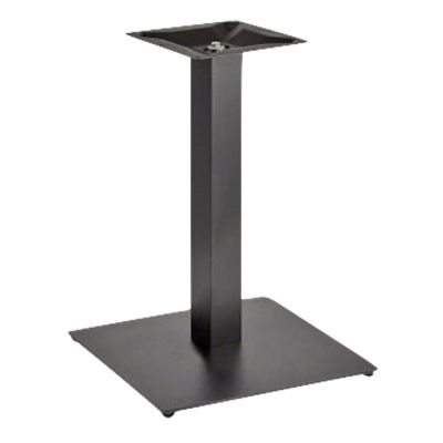 Profile Square Small ST Dining Height Table Base (Black)