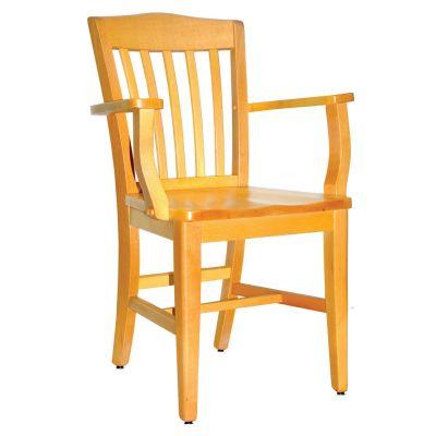 Heavy Restaurant Arm Chair