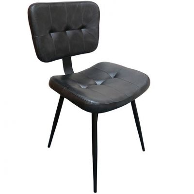 Infantry Side Chair (Black)