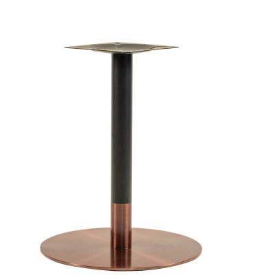 Zeus Small Dining Height Table Base (Rose Gold)