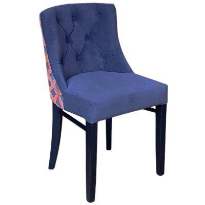 Leona Side Chair (Lana Mole / Chelsea Squirell / Black)