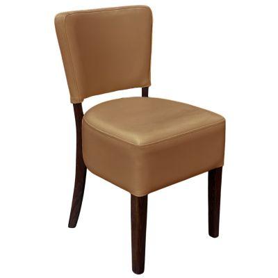 Memphis Standard Side Chair (Camel / Walnut)