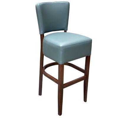 Memphis Standard High Chair (Grey Faux / Walnut)