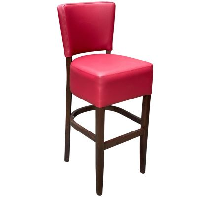 Memphis Standard High Chair (Wine Faux / Walnut)
