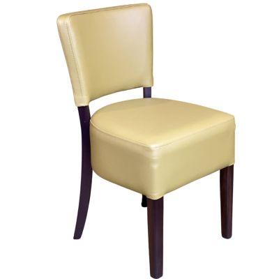 Memphis Standard Side Chair (Reed Faux / Walnut)