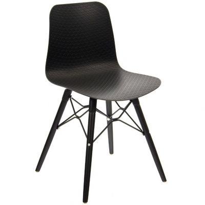 Net Web Frame Side Chair (Black)