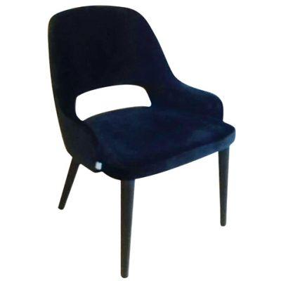 Pannacotta Side Chair (Blue Microfiber)