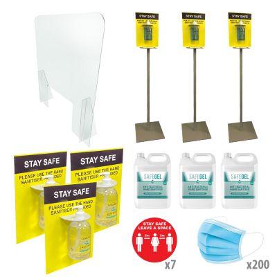 PPE Sanitiser Essentials Medium Pack