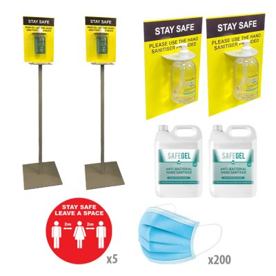 PPE Sanitiser Essentials Small Pack