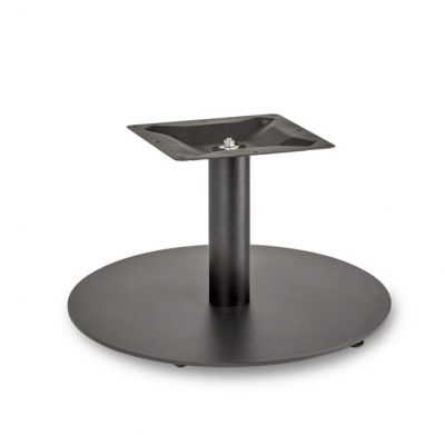 Profile Round Small RT Coffee Height Table Base (Black)