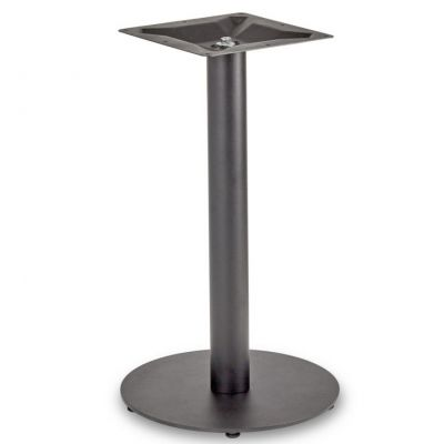 Profile Round Small RT Dining Height Table Base (Black)