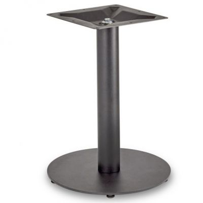 Profile Round Small RT Lounge Height Table Base (Black)