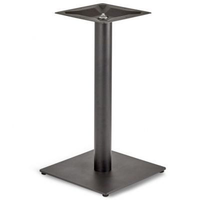 Profile Square Small RT Dining Height Table Base (Black)