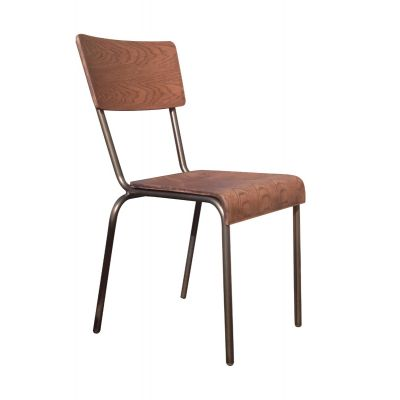 School Stacking Side Chair (Wooden)