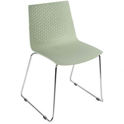 Flex Skid Side Chair (Green)