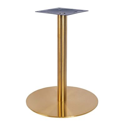 Zeus Small Coffee Height Table Base (Brass)