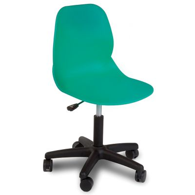 Space Swivel Side Chair (Turquoise)