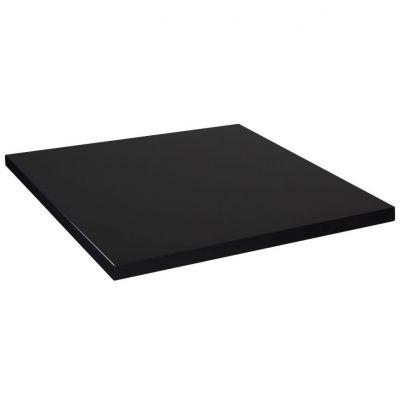 Mono Laminate Square Table Top - 800mm x 800mm (Black)