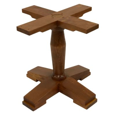 Contemporary Coffee Height Table Base