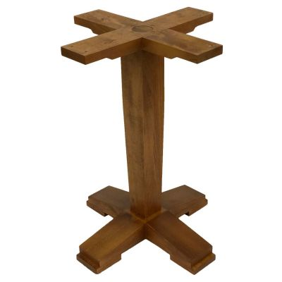 Contemporary Tapered Dining Height Table Base