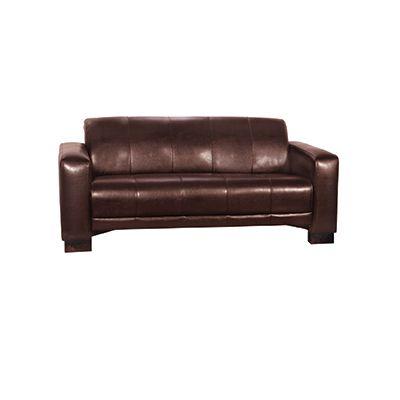 Tiger 3 Seater Sofa (Margo Dark Brown)