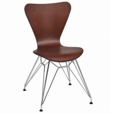 Torino Side Chair (Wenge / Chrome)