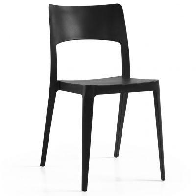 Vanity Side Chair (Black)