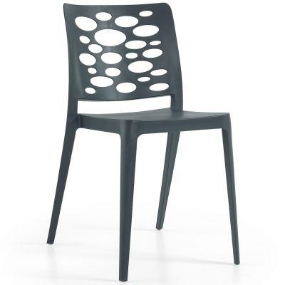 Venus Side Chair (Anthracite)