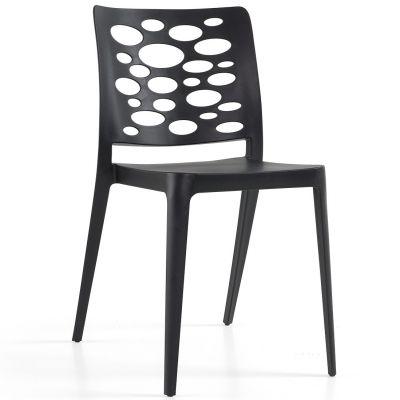 Venus Side Chair (Black)