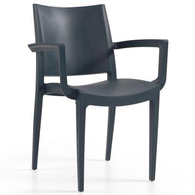 Wanda Arm Chair (Anthracite)